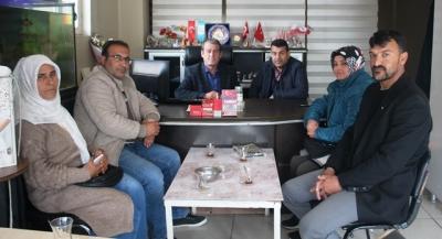 HDP Meclis adaylarından Urfa Çağdaş'a ziyaret