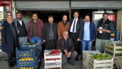 Hekimoğlu, Haliliye'deki Esnaf ve STK Temsilcilerini Dinledi.