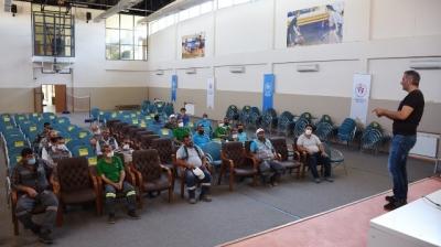 Hilvan'da Belediye personellerine İş Sağlığı Eğitimi verildi