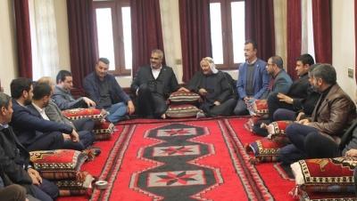 HÜDA PAR'dan Harran Belediye Başkanına Ziyaret