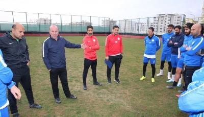 İhsan Karabulut ilk antrenmanına çıktı