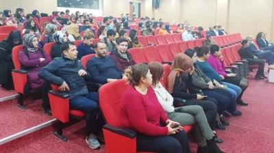 """""""Kadına yönelik şiddet"""" konferansı yapıldı"""