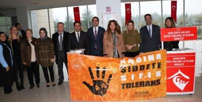 Kadına yönelik şiddet programı düzenlendi