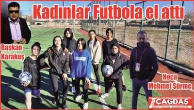 Kadınlar Futbola El Attı