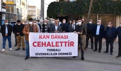 Kan Davası İzmir'de lanetlendi
