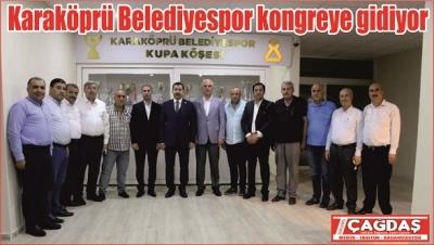 Karaköprü Belediyespor Kongreye Gidiyor
