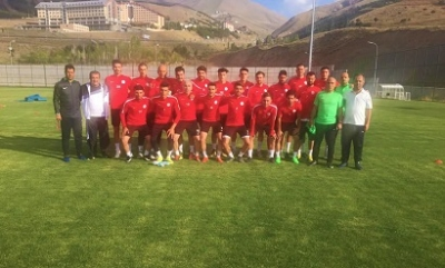 Karaköprü Belediyespor'un Erzurum kampı sona erdi