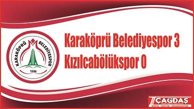 Karaköprü Belediyespor lider oldu