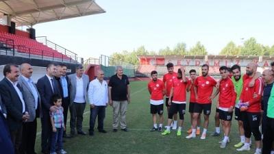 Karaköprü Belediyespor'da hedef galibiyet