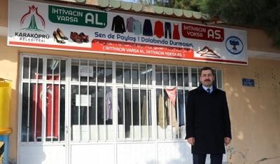 Karaköprü'de heba etme hibe et kampanyası