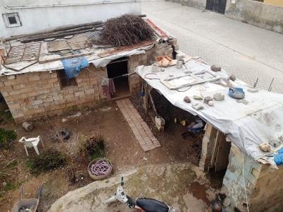 Kullanılamaz durumdaki evin tamiratı yapıldı