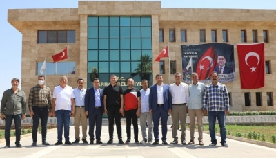 Mhp Kayseri Milletvekili Ersoy'dan Başkan Özyavuz'a Ziyaret