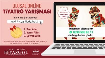 Ödüllü Online Ses Ve Tiyatro Yarışması