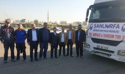 Organize Sanayi Bölgesinden Telabyad'a İnsani Yardım