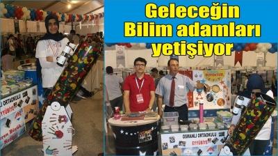 Osmanlı Ortaokulu'ndan Bilime katkı