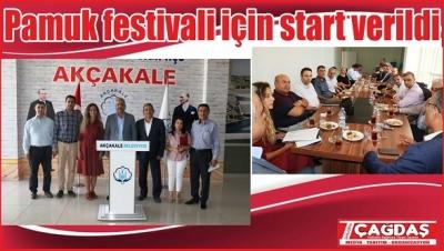 Pamuk festivali için start verildi