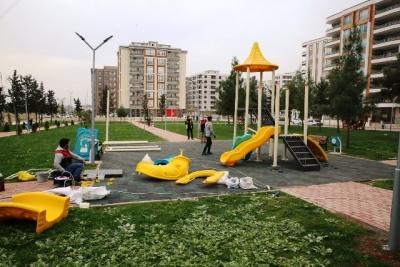 Parklar, Haliliye Belediyesi İle Güzelleşiyor