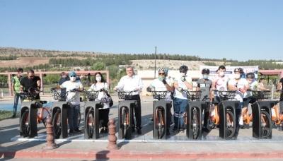 """Peygamberler Şehri, Dünya Bisiklet Gününde """"Urfabis"""" İle Tanıştı"""