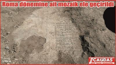 Roma Dönemine ait mozaik ele geçirildi