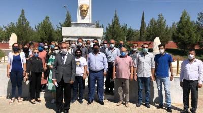 Şanlıurfa'da CHP'nin 98. Kuruluş Yıl Dönümü Kutlandı
