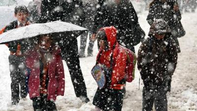 Şanlıurfa'da eğitime kar tatili