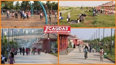 Şanlıurfalılar Büyükşehir'in sosyal tesislerine akın ediyor
