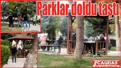 Şanlıurfalılar parklara akın etti