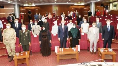 Şehit Aileleri ve Gazilere Devlet Övünç Madalyası ve Beratı Verildi