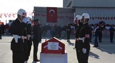 Şehit Uzman Çavuş Suat Topçu Kadirli'ye Uğurlandı