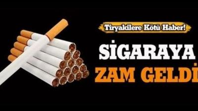 Sigaraya 2 liralık beklenen fiyat artışı geldi
