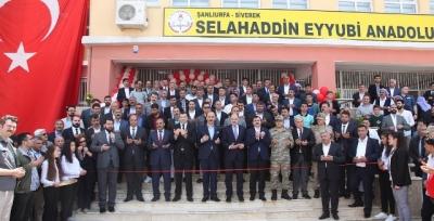 Siverek Eğitim Kampüsü Açıldı
