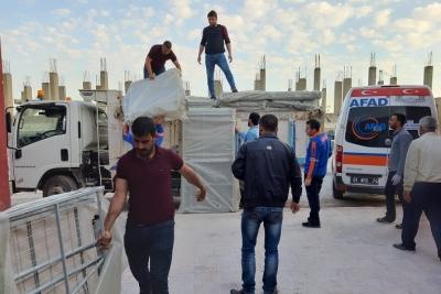SUDKOM, Barış Pınarında Karantina Misafirhanesi Kurdu