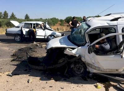 Suruç'ta kaza 1 ölü, 4 yaralı