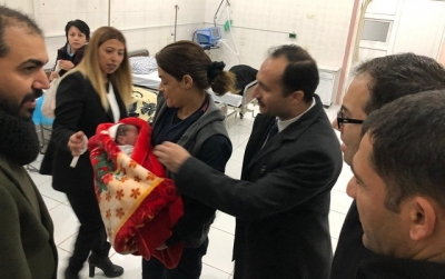 Telabyad Hastanesi'nde İlk Ameliyat