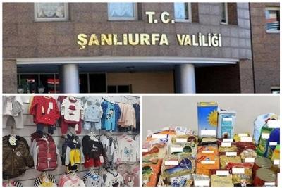 Valilik'ten harekâttan etkilenen vatandaşlar için ayni yardım duyurusu