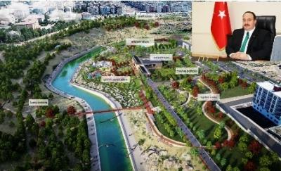 Viranşehir Millet Bahçesi'ne Kavuşuyor