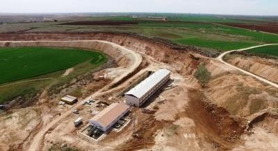 Viranşehir pompaj sulamasında çalışmalar tam hız