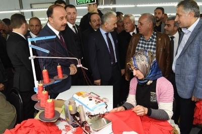 Viranşehir VGS Tekstil Törenle Açıldı