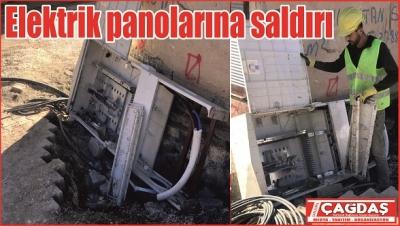 Viranşehir'de 327 pano tahrip edildi