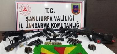 Viranşehir'de silah kaçakçılığı