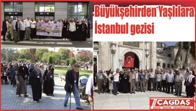 Yaşeren Çınarlara İstanbul gezisi