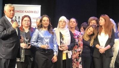 Yazmacı'ya Kadın girişimci başarı ödülü